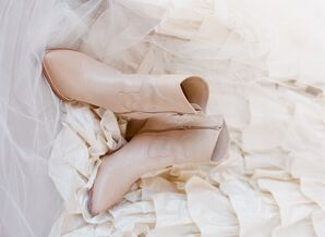Sleek Nude Boots