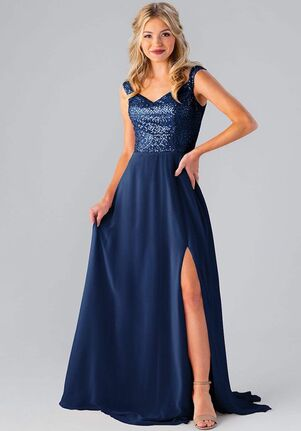 Kennedy Blue Noah Off the Shoulder Bridesmaid Dress