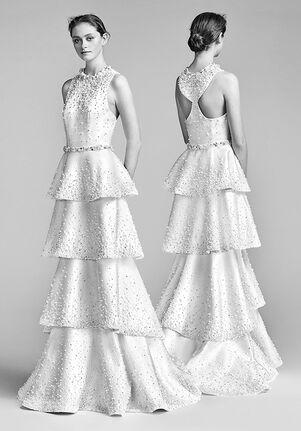 Gray Bridal Dress