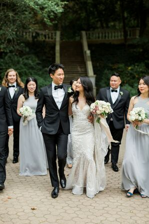 Wedding Party at Cator Woolford Gardens in Atlanta