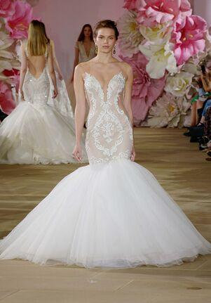 Ines Di Santo Stunning Mermaid Wedding Dress