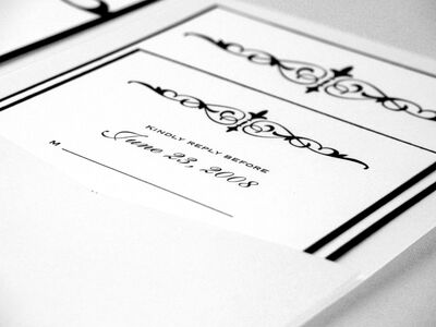 Jacqueline Ann Custom Invitations