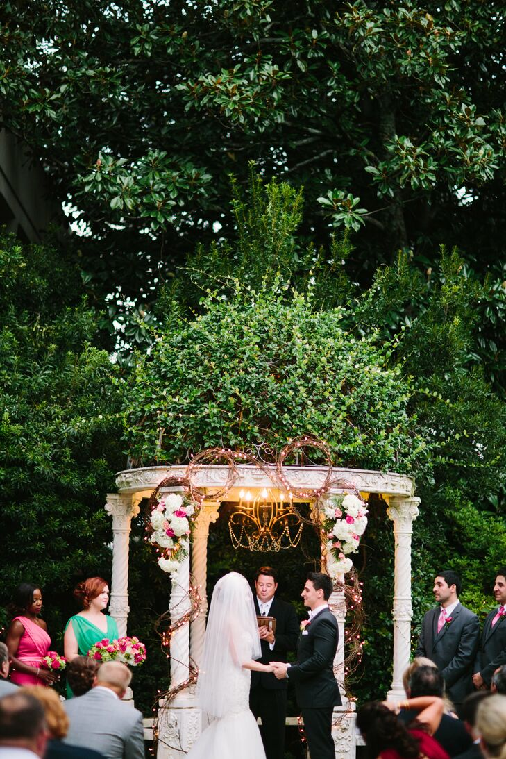 Tanya and Ramin's Outdoor Garden Ceremony