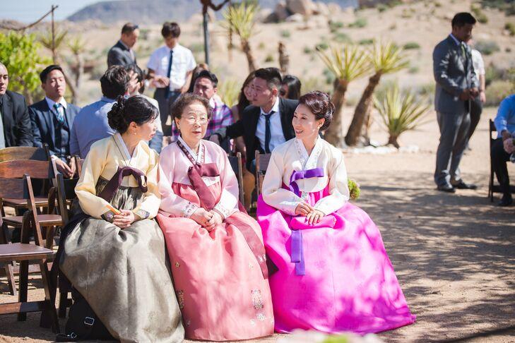 Traditional Korean Wedding Guest Attire