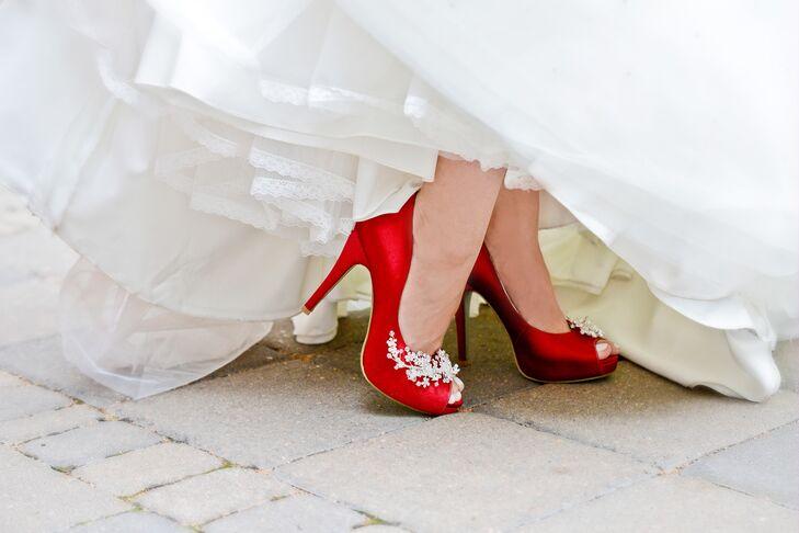 Bold Red High Heels
