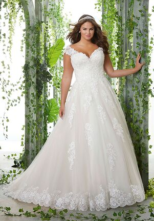 Morilee by Madeline Gardner/Julietta Pamela Ball Gown Wedding Dress