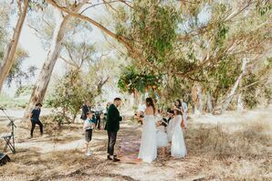 Intimate Family-Only Wedding Ceremony in San Diego, California