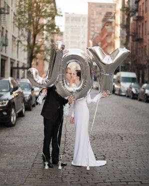 Silver Joy Balloons