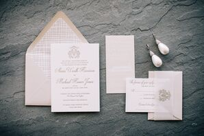 Classic and Elegant Invitations with Calligraphy