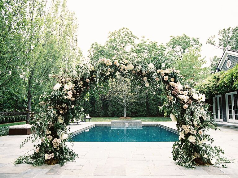 Wedding Ceremony Ideas Flower Covered Wedding Arch: Wedding Ceremony: New Ceremony Arch Alternatives