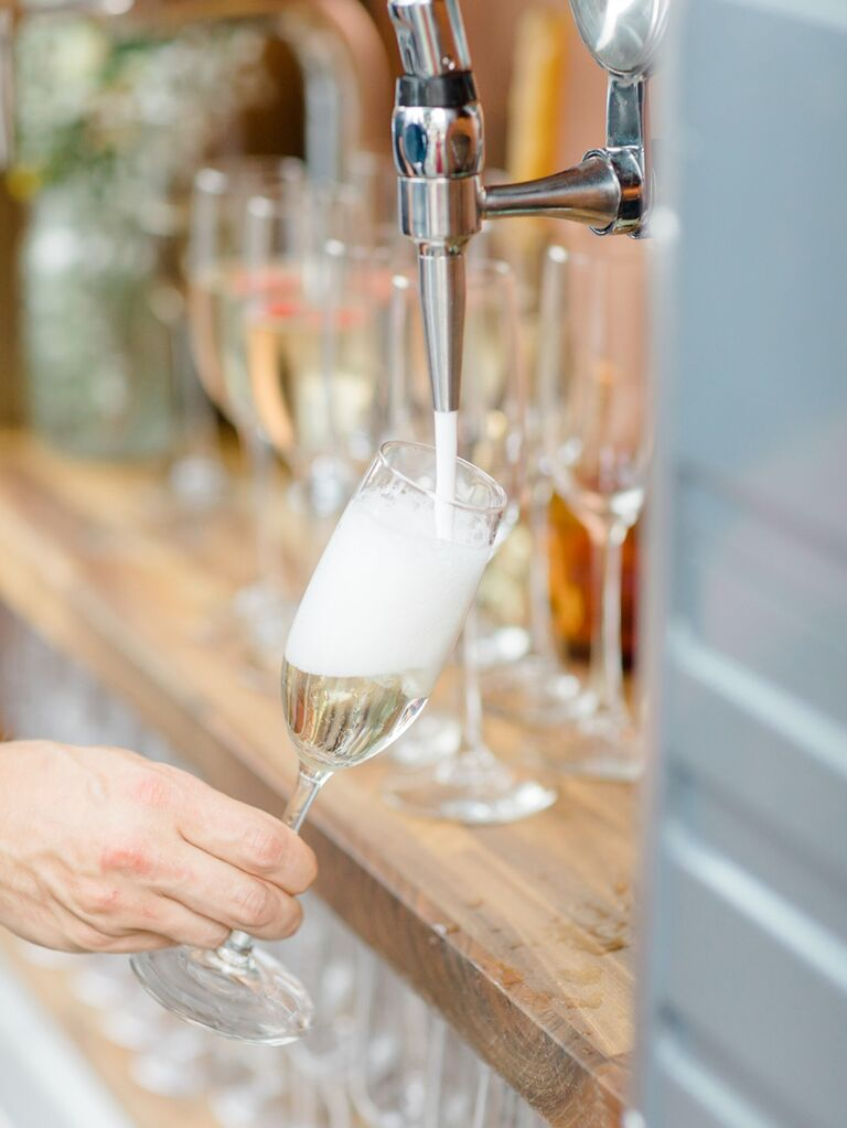 Champagne on tap