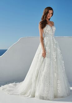 Justin Alexander Bali A-Line Wedding Dress