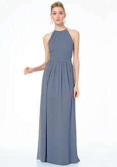 #LEVKOFF 7044 Halter Bridesmaid Dress