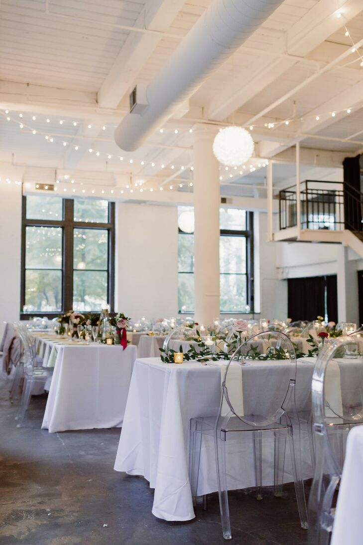 Indoor Industrial Wedding Venue at North 13th at the Knickerbocker in St. Louis, Missouri