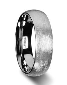 Mens Tungsten Wedding Bands W2971-DTWF Tungsten Wedding Ring