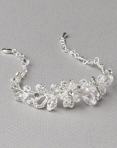 Dareth Colburn Delicate Crystal Flower Bracelet (JB-4825) Wedding Bracelet photo