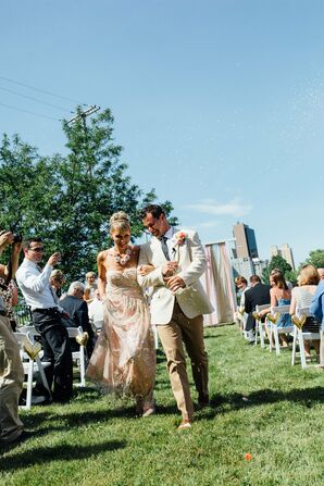 Outdoor Recessional, Raquel and Nick
