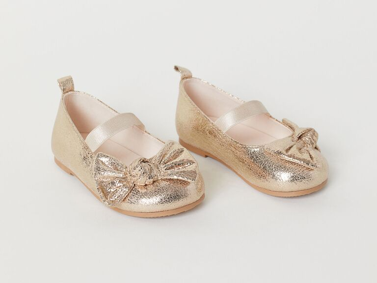 ac54ef8a5e62 30 Flower Girls Shoes That'll Put Extra Pep in Her Step