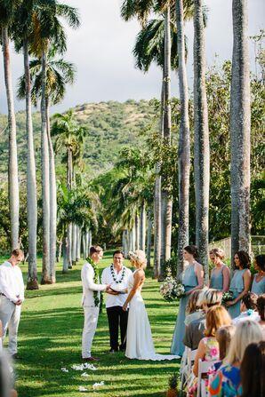 Elegant, DIY Tropical Wedding in Oahu
