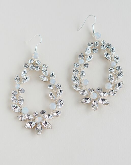 Dareth Colburn Lexie Floral Statement Earrings (JE-4189) Wedding Earrings photo