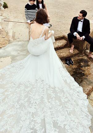 Justin Alexander Alivia Mermaid Wedding Dress