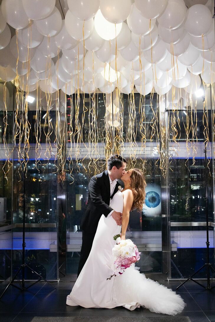 Andra Chapman (31 and a luxury manager) and Evan Gonzalez's (36 and a vice president of investments) wedding served as a celebration of love—past, pre