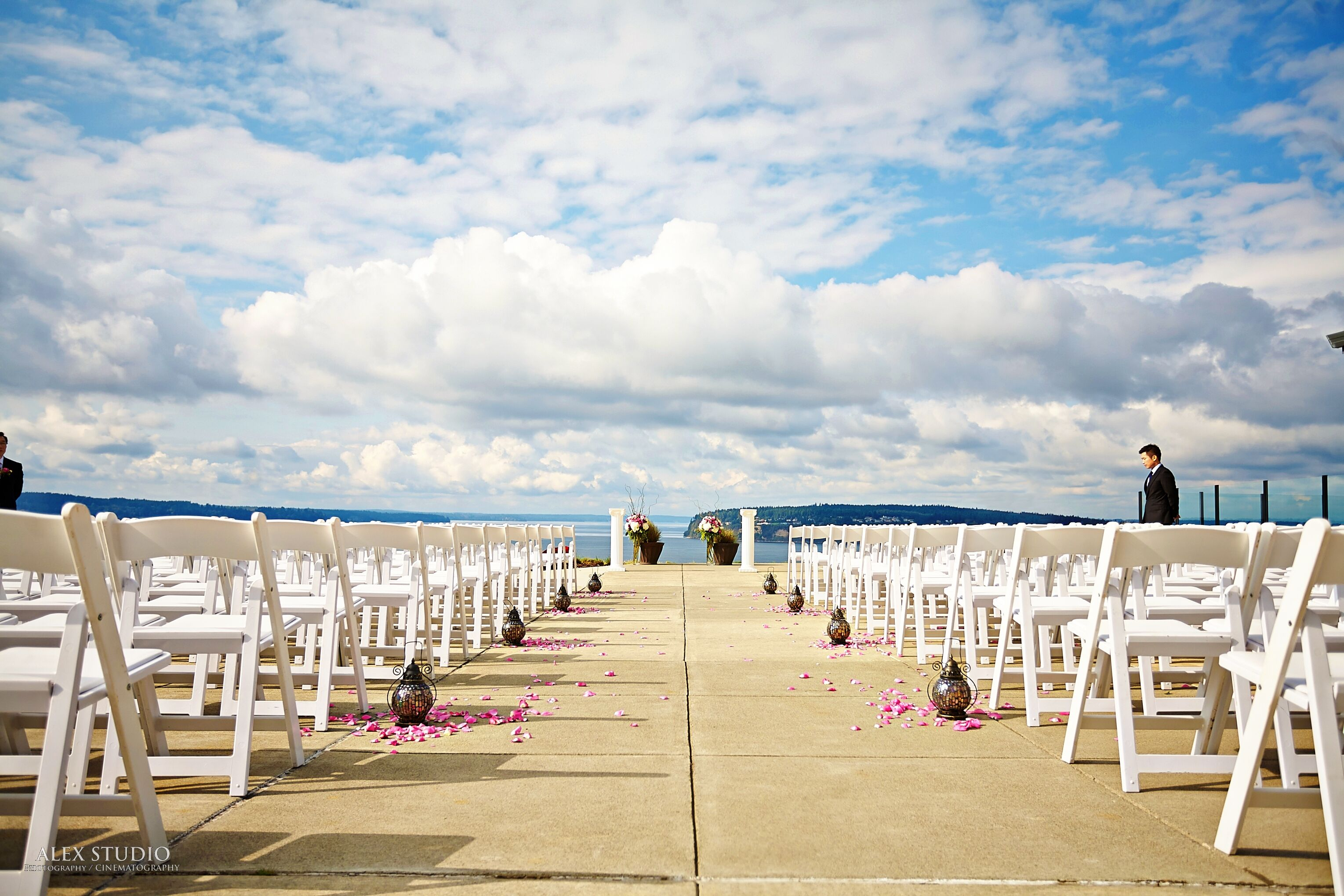 Wedding reception venues in seattle wa the knot chambers bay golf course junglespirit Image collections