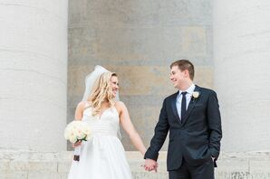 A Classic Black and White Wedding in Ohio