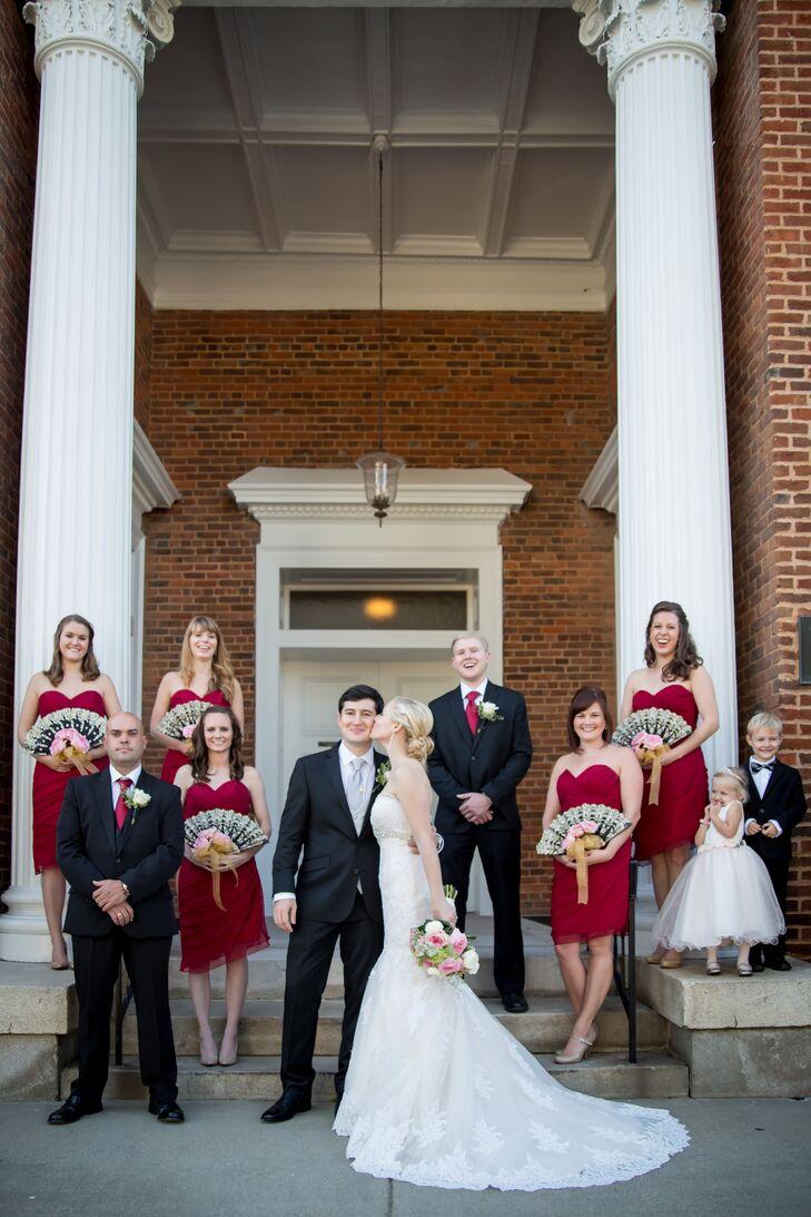 The wedding day began with a heartfelt ceremony in the church where Kelly grew up, the First Presbyterian Church in Marietta, Georgia.