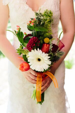 Colorful Bouquet with Various Flowers