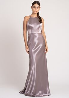 Jenny Yoo Collection (Maids) Alessia Halter Bridesmaid Dress