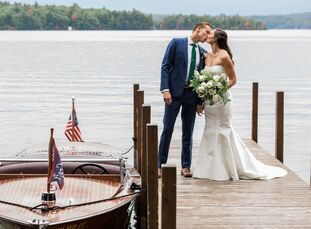 Immediately after getting engaged, Paige Yerry (30 and an account manager) and Christopher (Chris) Liston (29 and works in commercial real estate) kne
