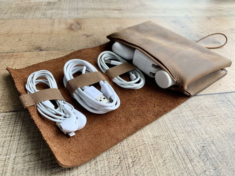 Mister Crafter leather charger roll up