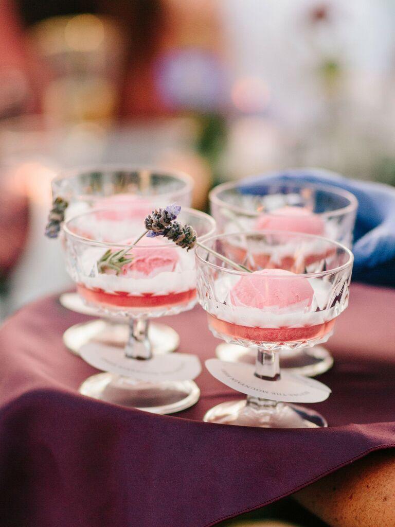 wedding drink ideas champagne punch