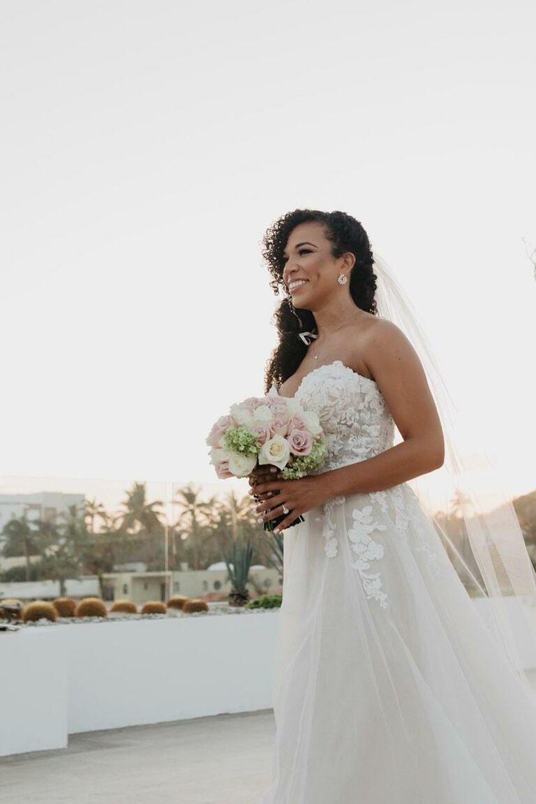 mj acosta wedding dress