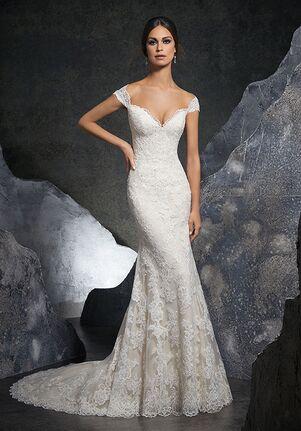 Morilee by Madeline Gardner/Blu Kinley/5616 Sheath Wedding Dress