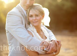 The Bride Katie Hatfield, 26, a photographer The Groom Preston Vowels, 25, a special education teacher's aide The Date April 10  Katie and Preston wan