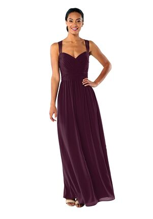 Brideside Brideside Serena in Grape Sweetheart Bridesmaid Dress