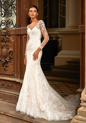 Moonlight Couture H1462 Mermaid Wedding Dress