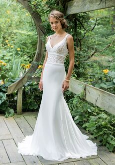 Lillian West 66007 Sheath Wedding Dress