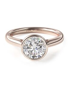 James Allen Vintage Round Cut Engagement Ring