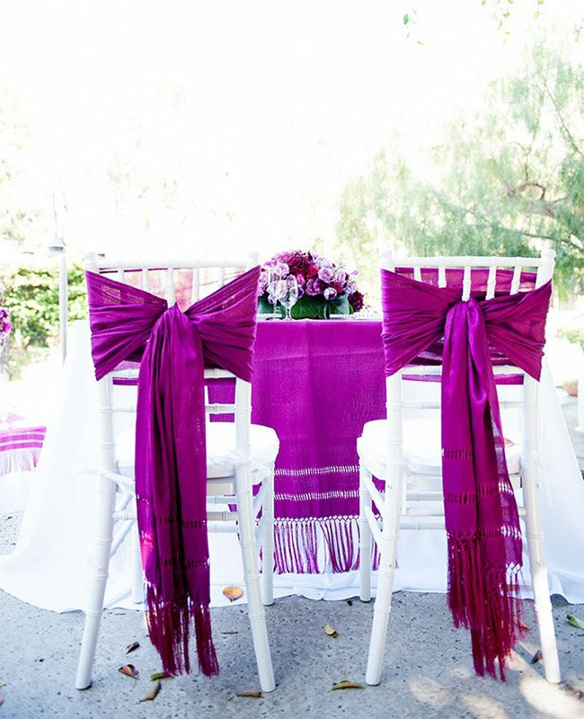 Reception Chair Wrap Ideas | blog.theknot.com