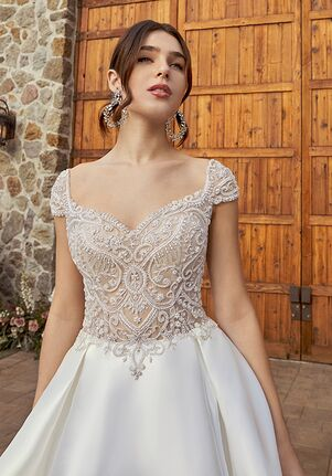 Casablanca Bridal 2416 London A-Line Wedding Dress
