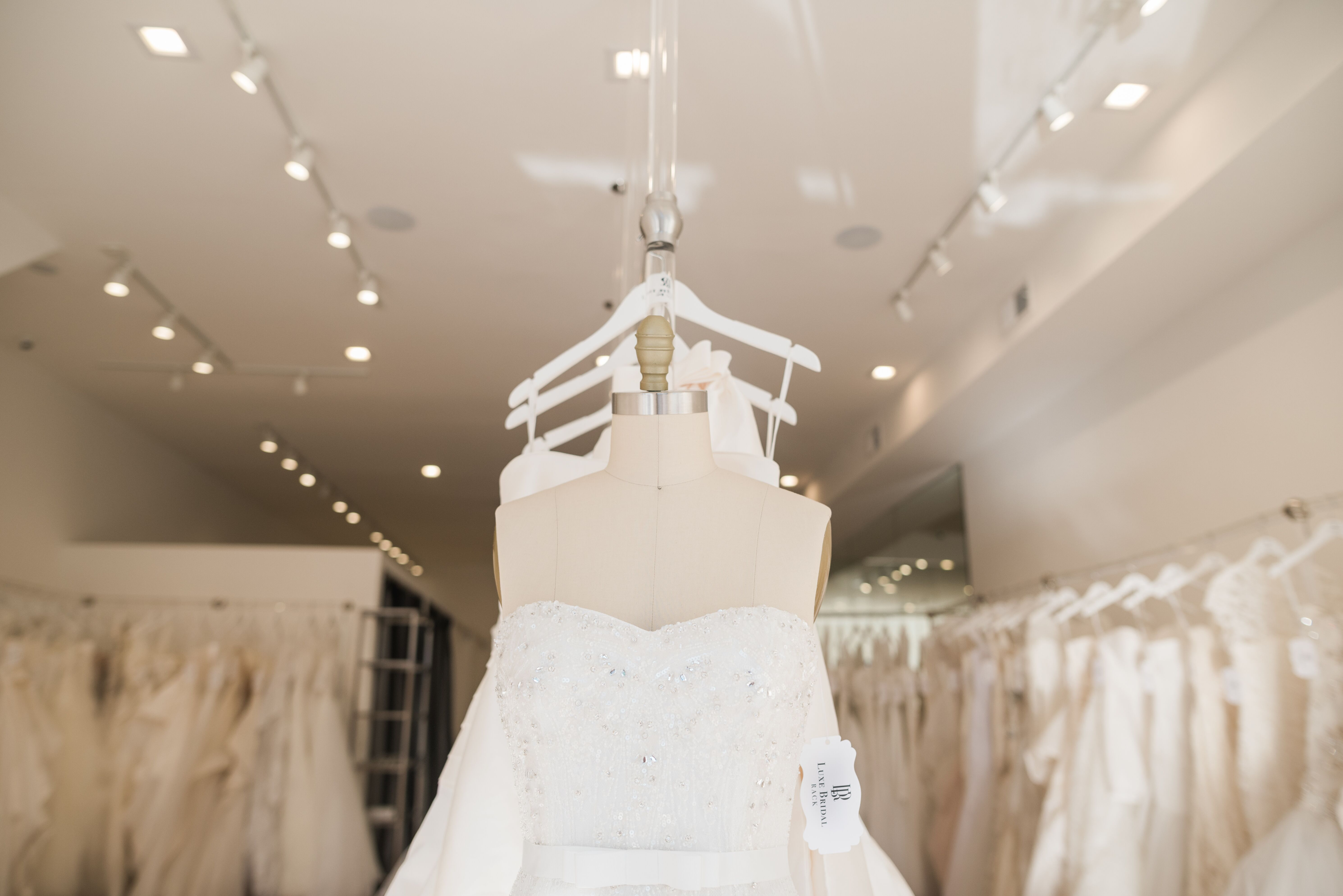 Luxe Bridal Rack - Chicago, IL