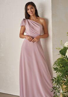JASMINE P206002 One Shoulder Bridesmaid Dress