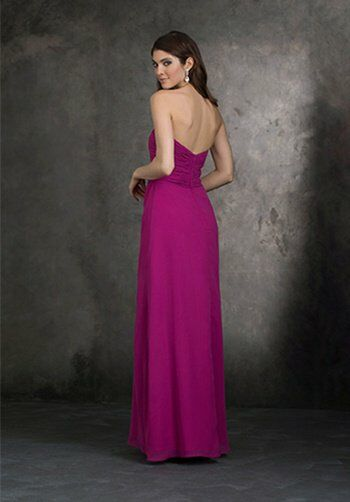Allure Bridesmaids 1403 Strapless Bridesmaid Dress