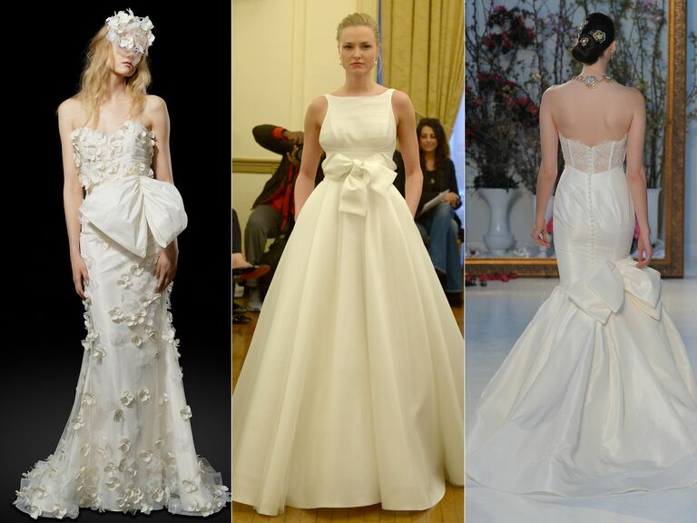 Top Wedding Dress Trends From Spring 2017 Bridal Fashion Week (Watch!)