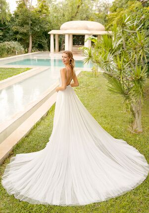 Rosa Clará Soft RAVEN A-Line Wedding Dress