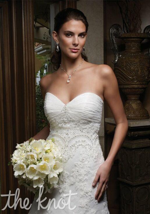 77db5cf0ad6 Casablanca Bridal 1914 Wedding Dress - The Knot