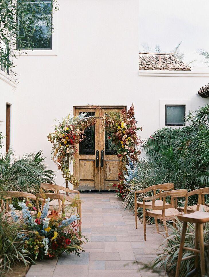 Ceremony Space for Wedding in Coachella, California